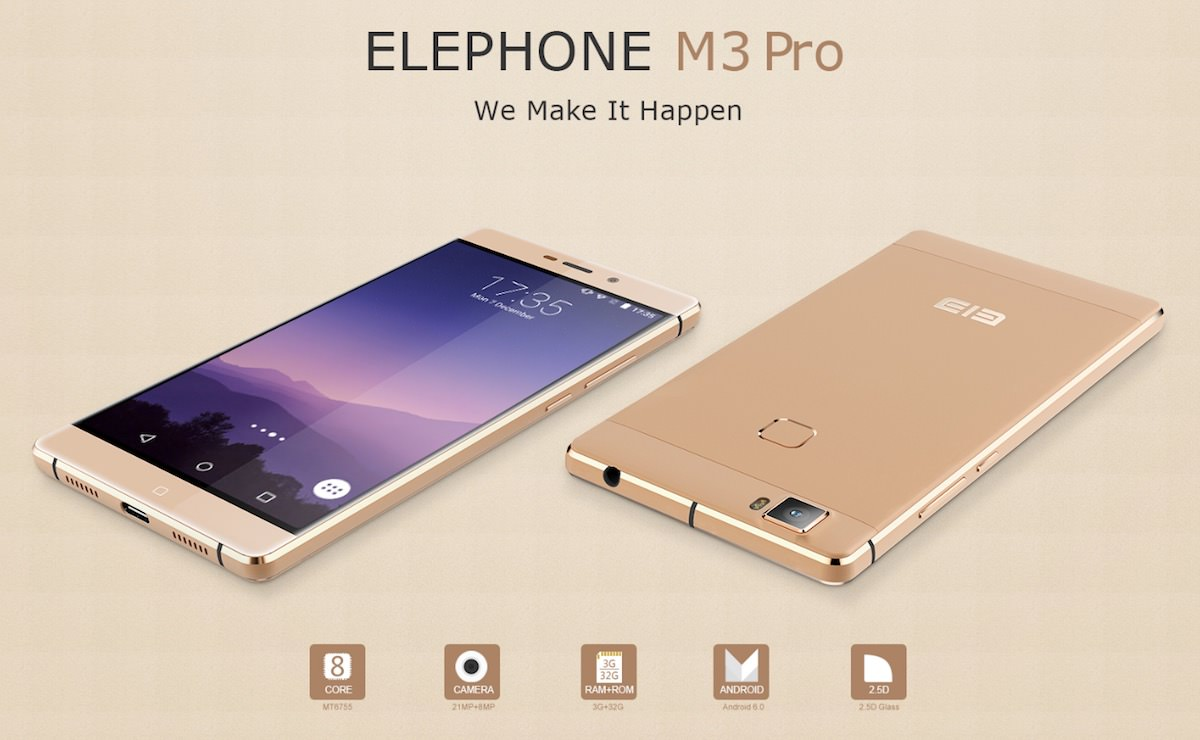 Elephone M3 Pro Android 6.0