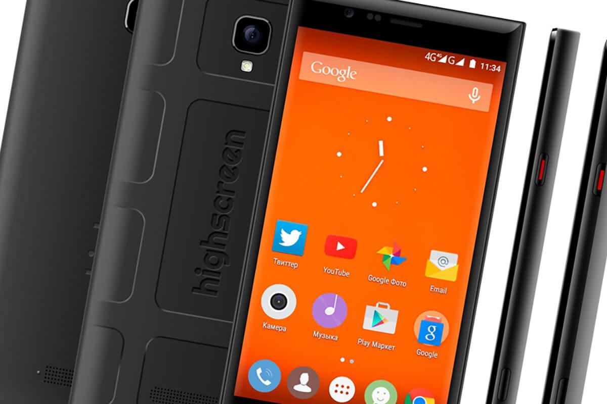 Highscreen представила мощный музыкальный смартфон Boost 3 Pro