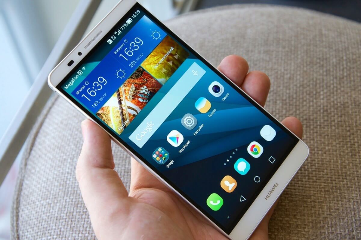 Huawei выпустит флагман D8 в начале 2016 года
