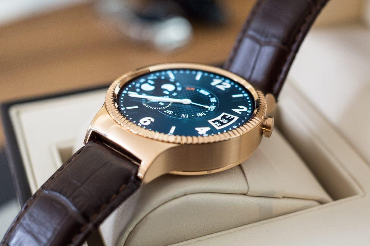 Huawei презентует второе поколение смарт-часов Watch на CES 2016