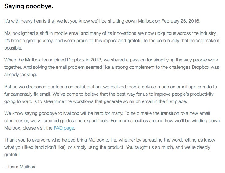 Mailbox rip app max iOS iPhone iPad android google play app store 4
