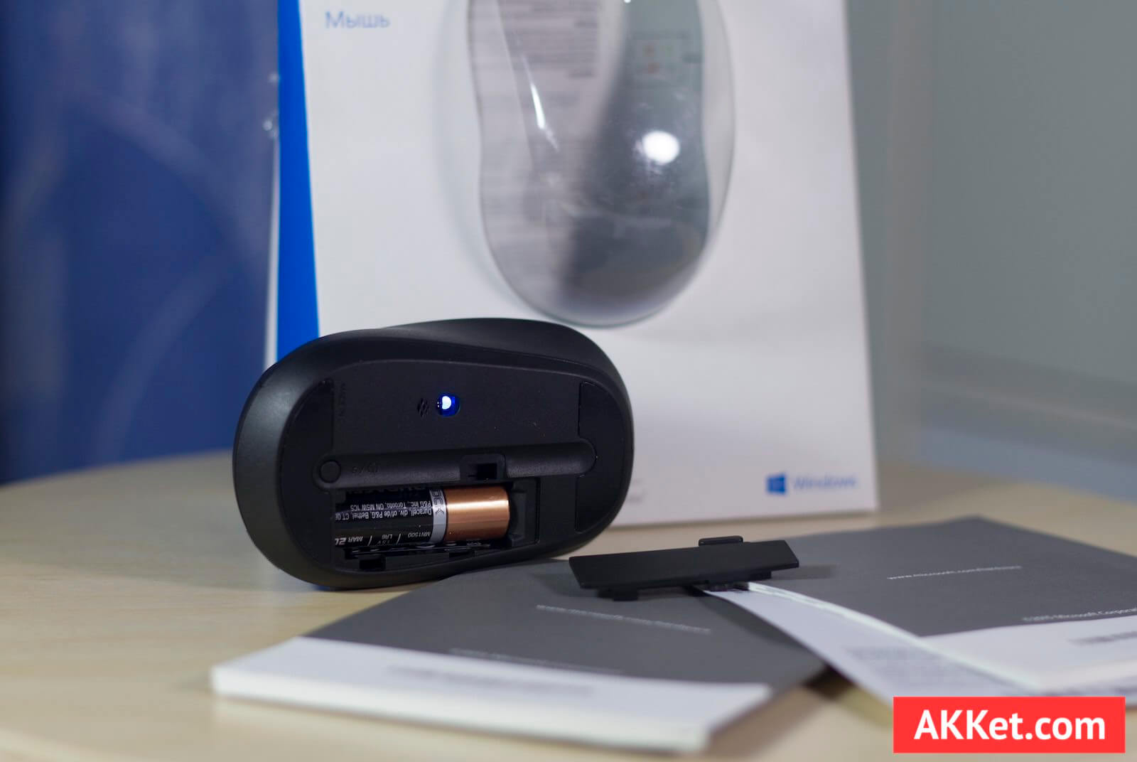 Microsoft Bluetooth Mobile Mouse 3600 review mouse 6