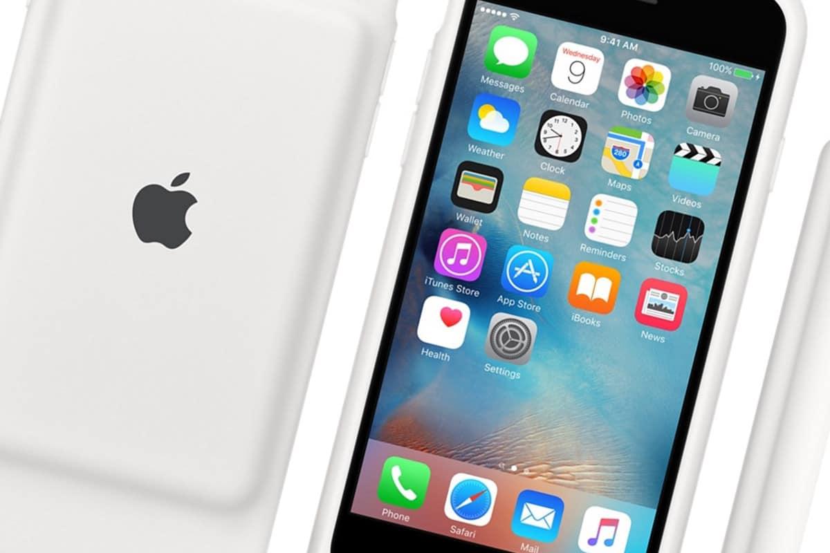 Apple выпустила чехол Smart Battery Case со встроенной батареей