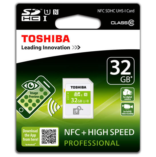 Toshiba NFC Card Android 2