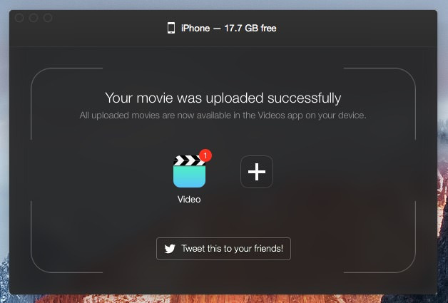 Waltr Mac Windows PC Russia Review convert video film movie mp4 fast connnect itunes 4