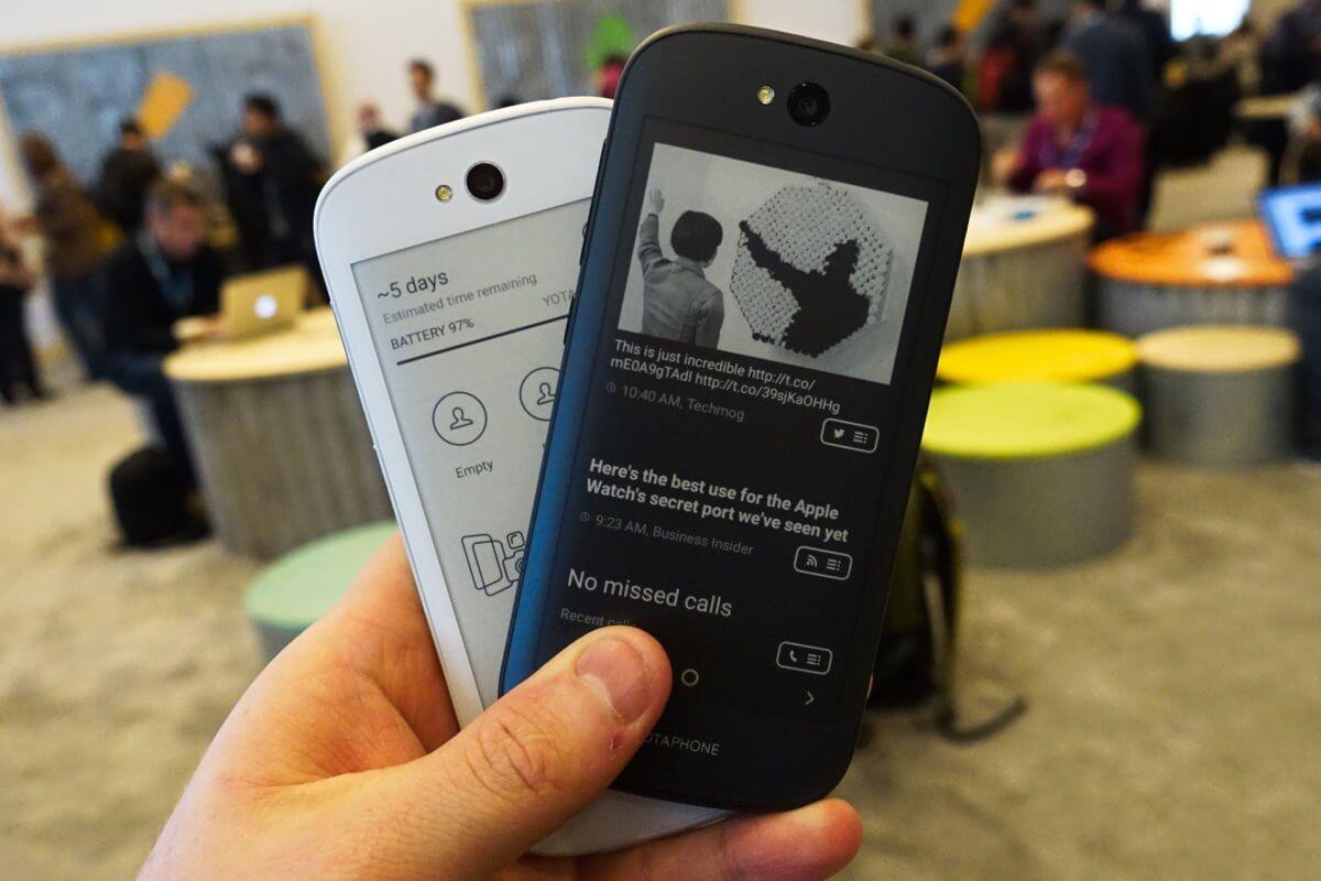Yota Devices не смогла окупить затраты на смартфоны YotaPhone