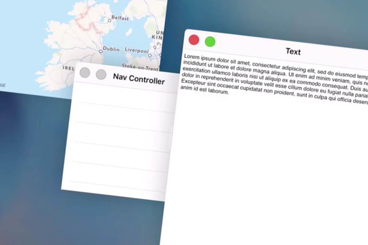 iOS 9 поддерживает полноценный многооконный режим работы