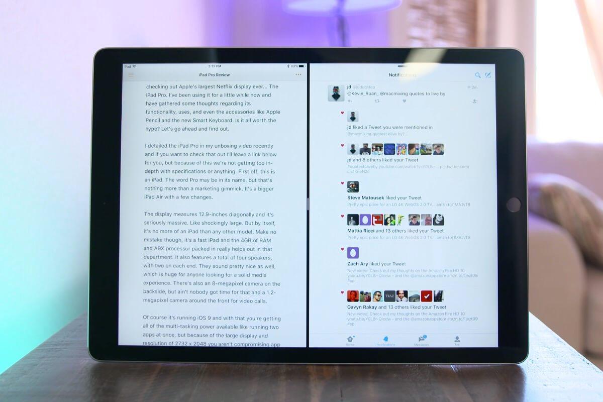 Продажи 12,9-дюймового iPad Pro оказались провальными