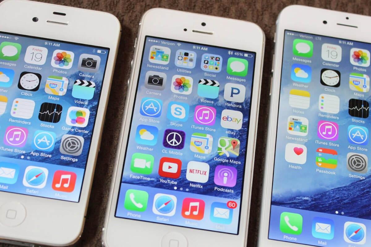 Сравнение скорости работы iPhone 4s, iPhone 5 и iPhone 5s на iOS 9.2 и iOS 9.2.1 beta
