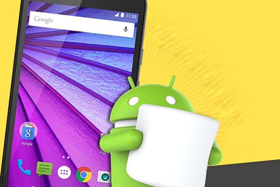 Motorola выпустила Android 6.0 Marshmallow для смартфона Moto G третьего поколения