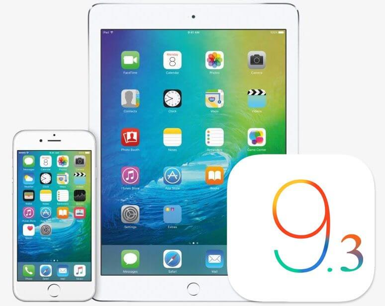 Apple iOS 9.3