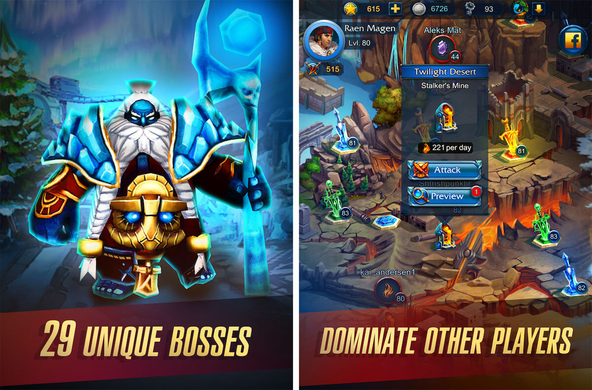 Defenders 2 App Store iPhone iPad iPod Touch Android Google Play Games 3