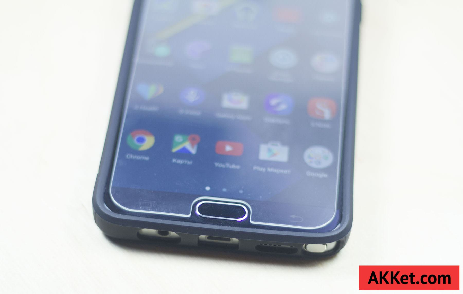 Deppa Glass Samsung Galaxy Note 5 review screen 9