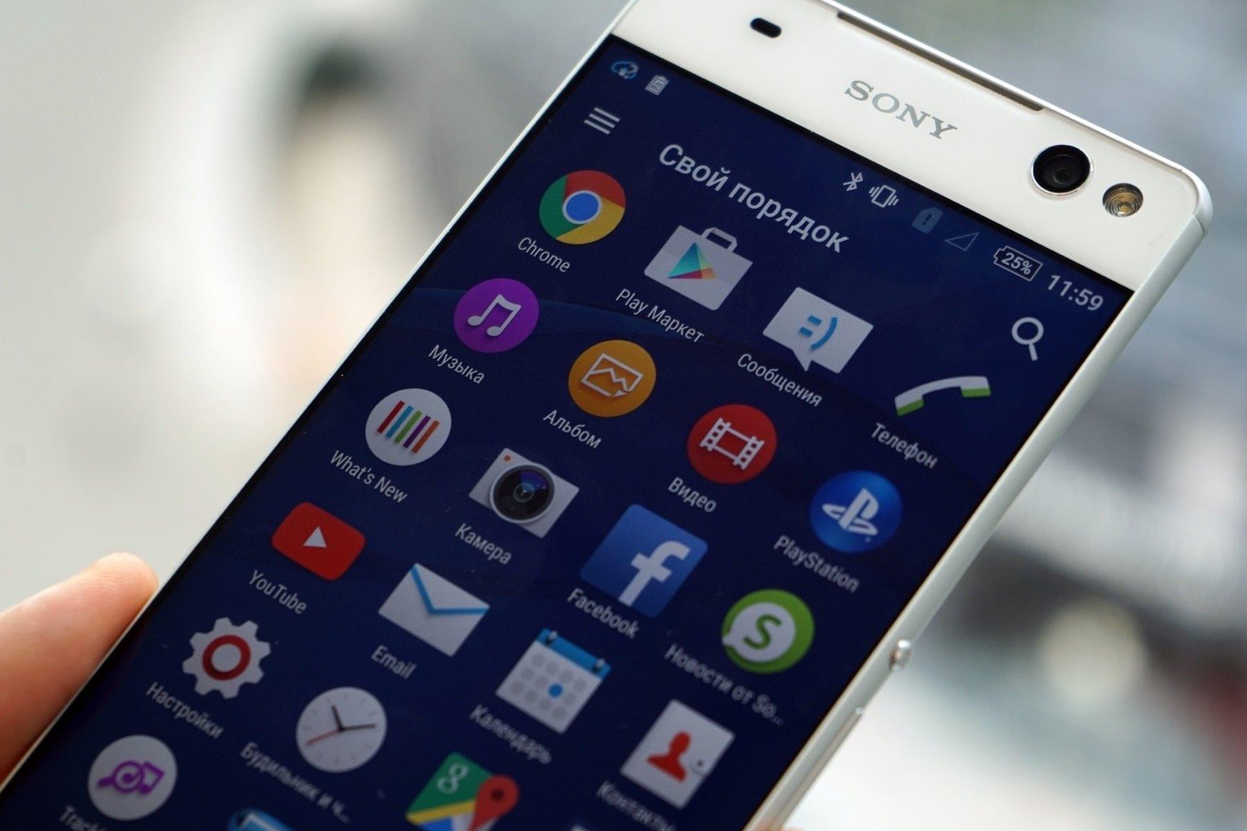 В сети появился рендер смартфона Sony Xperia C6