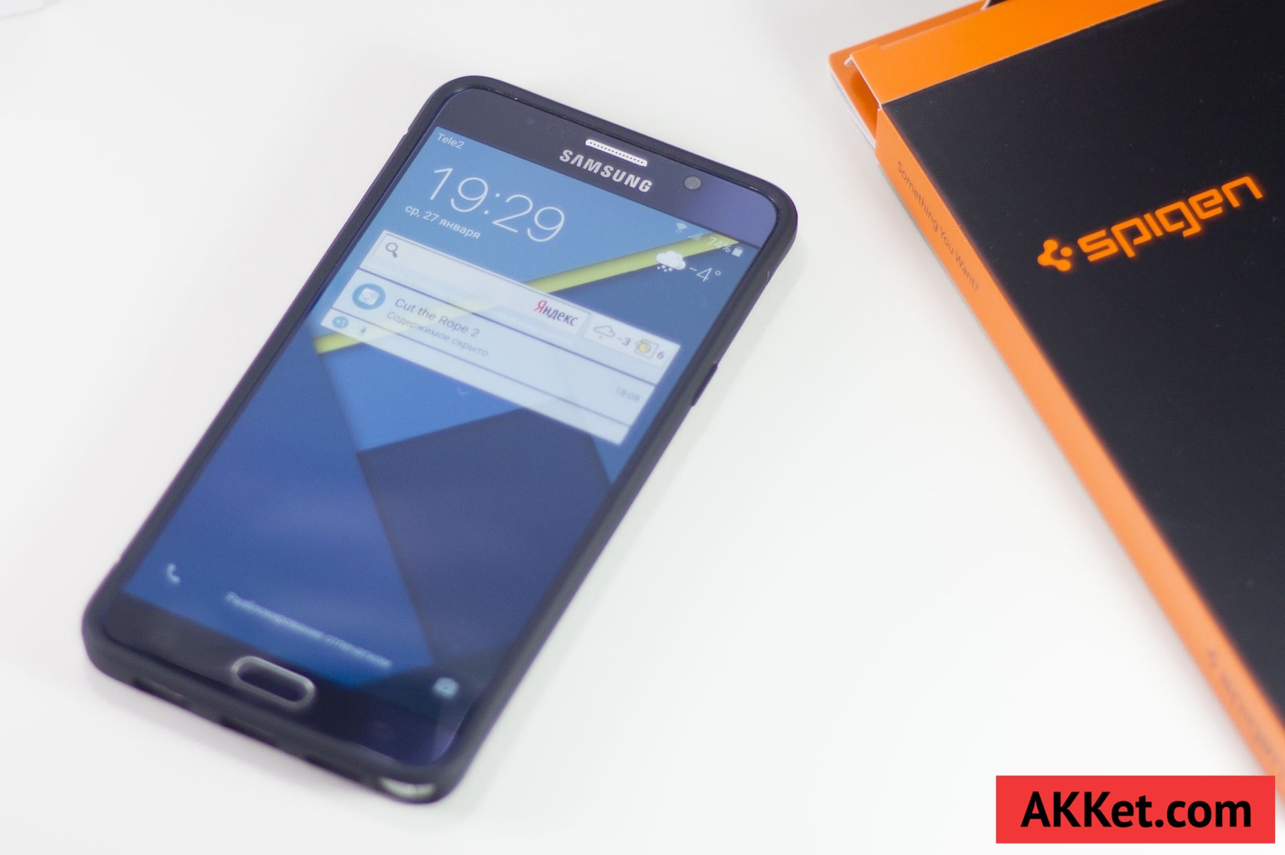 Spigen Rugged Armor Samsung Galaxy Note 5 12