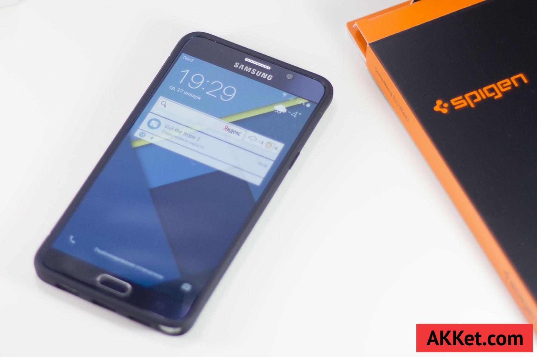 Spigen Rugged Armor Samsung Galaxy Note 5 12