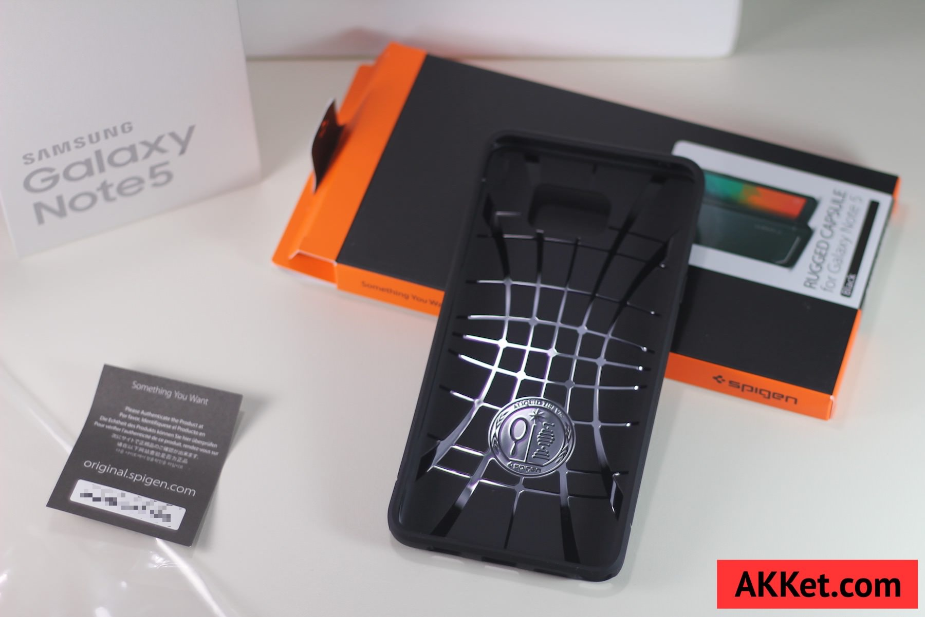 Spigen Rugged Armor Samsung Galaxy Note 5 6
