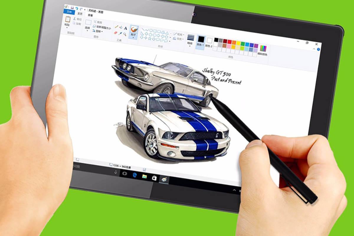 Vido W10D – планшет с поддержкой стилуса на Windows 10 и Android 4.4