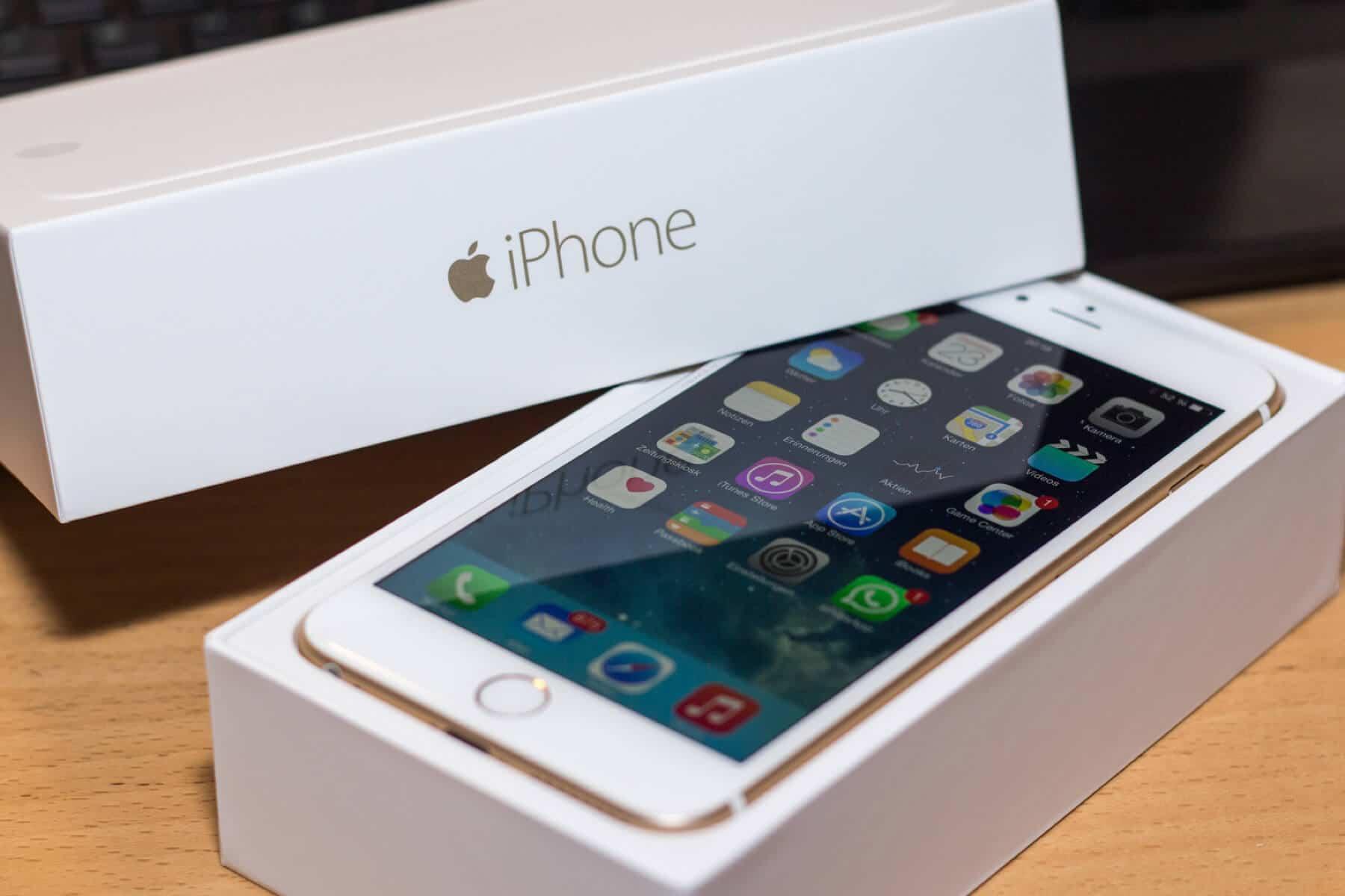 iPhone 6 подешевел в России на фоне подорожания