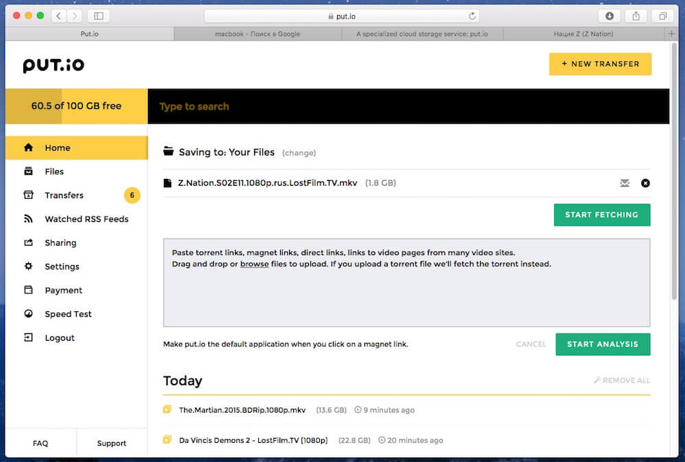 review torrent online download put.io 12