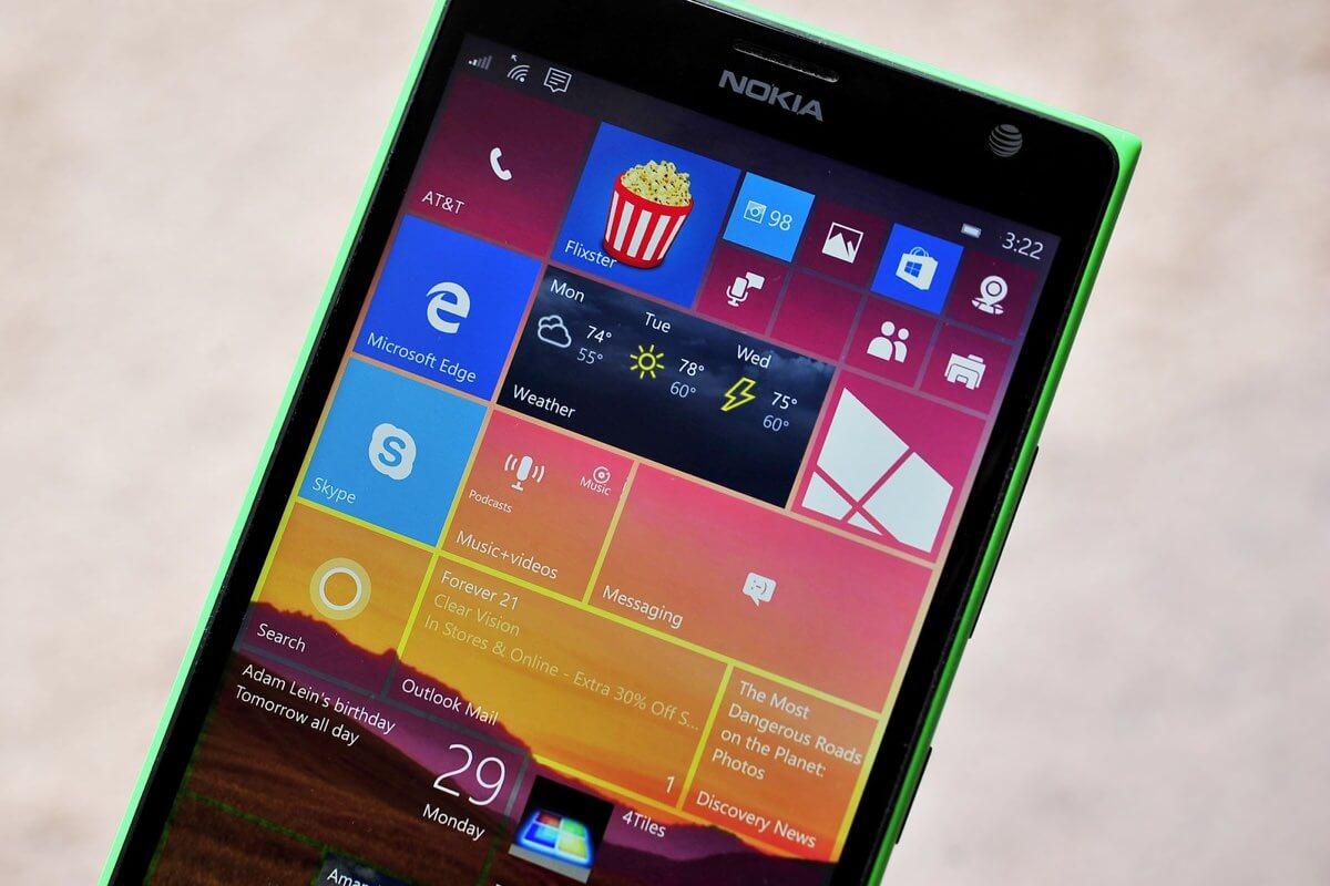 Microsoft отказалась от развития Lumia и Windows 10 Mobile