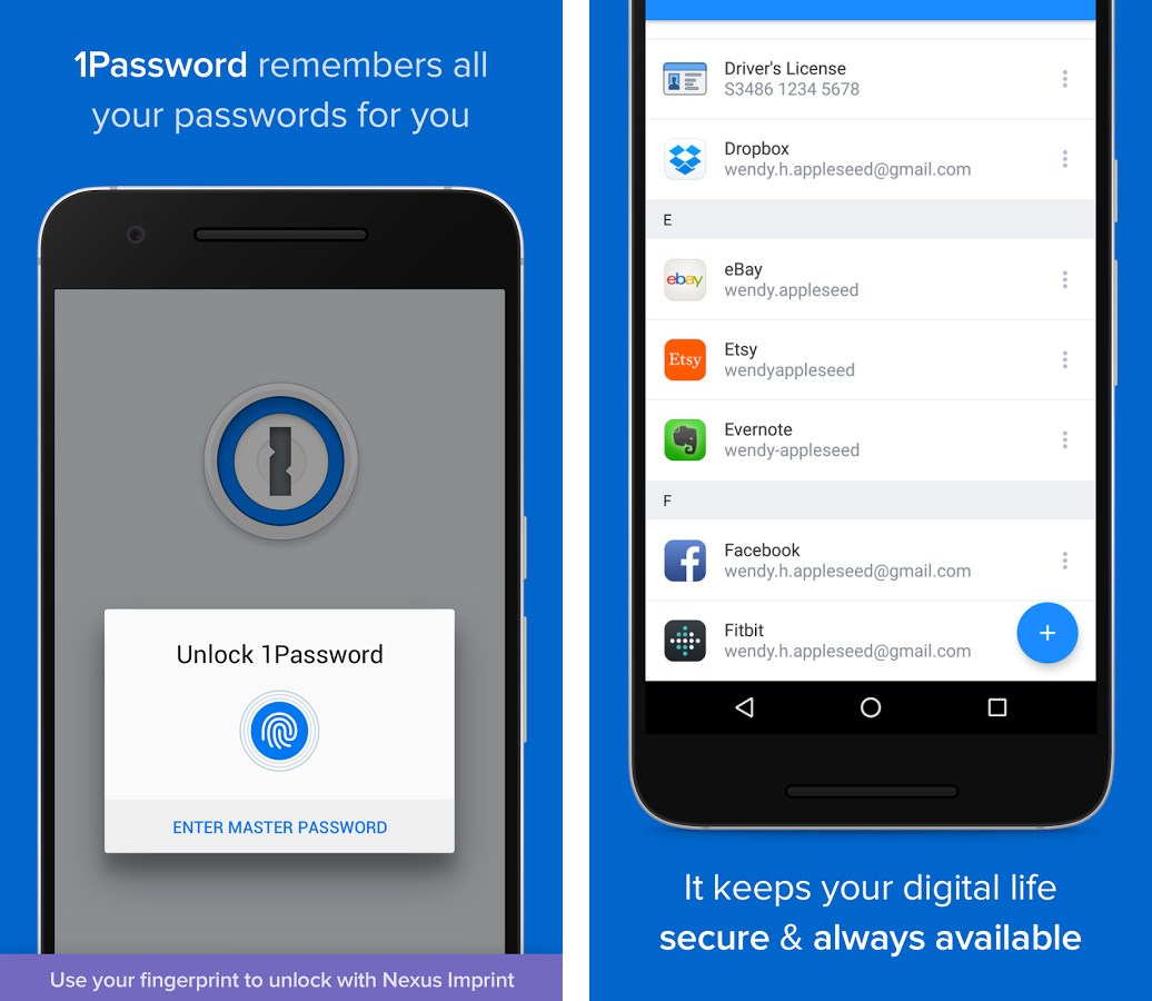 1Password for Android 6.0 Material Design download