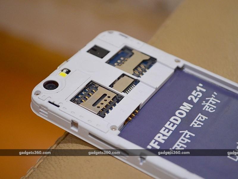 Freedom 251 smartphone 1