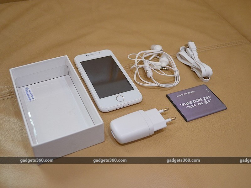 Freedom 251 smartphone 1 6
