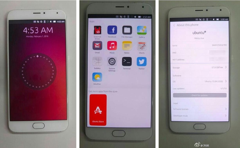 Meizu Pro 5 Ubuntu Touch 3