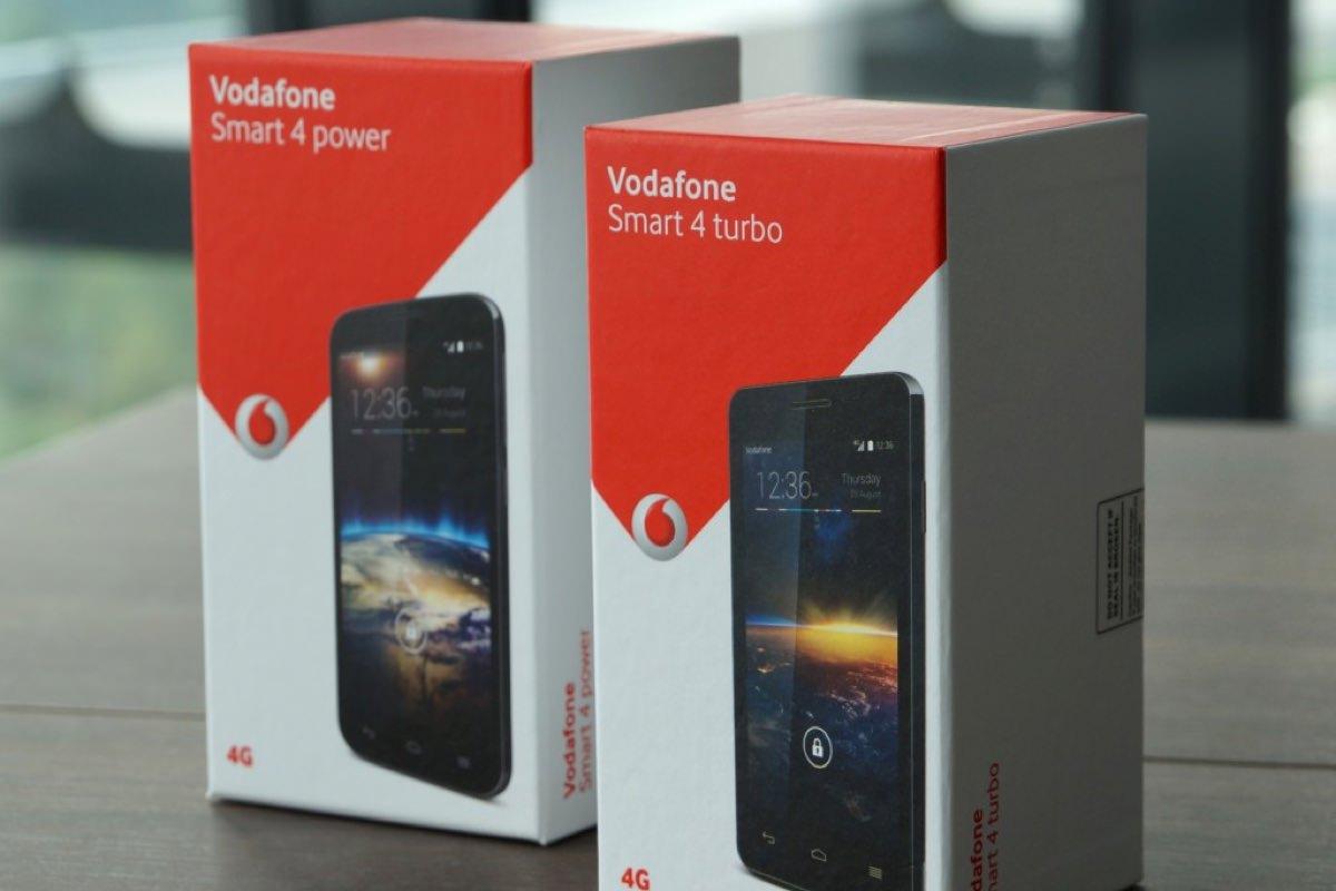 Смартфоны Vodafone начнут продаваться в Украине