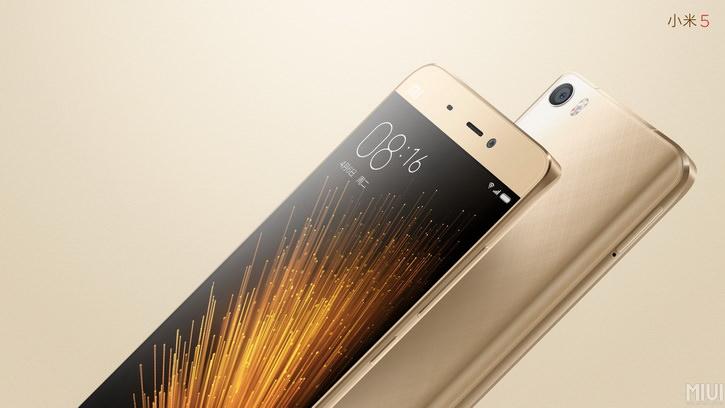 Корпорация Xiaomi презентовала новый флагманский смартфон Mi5