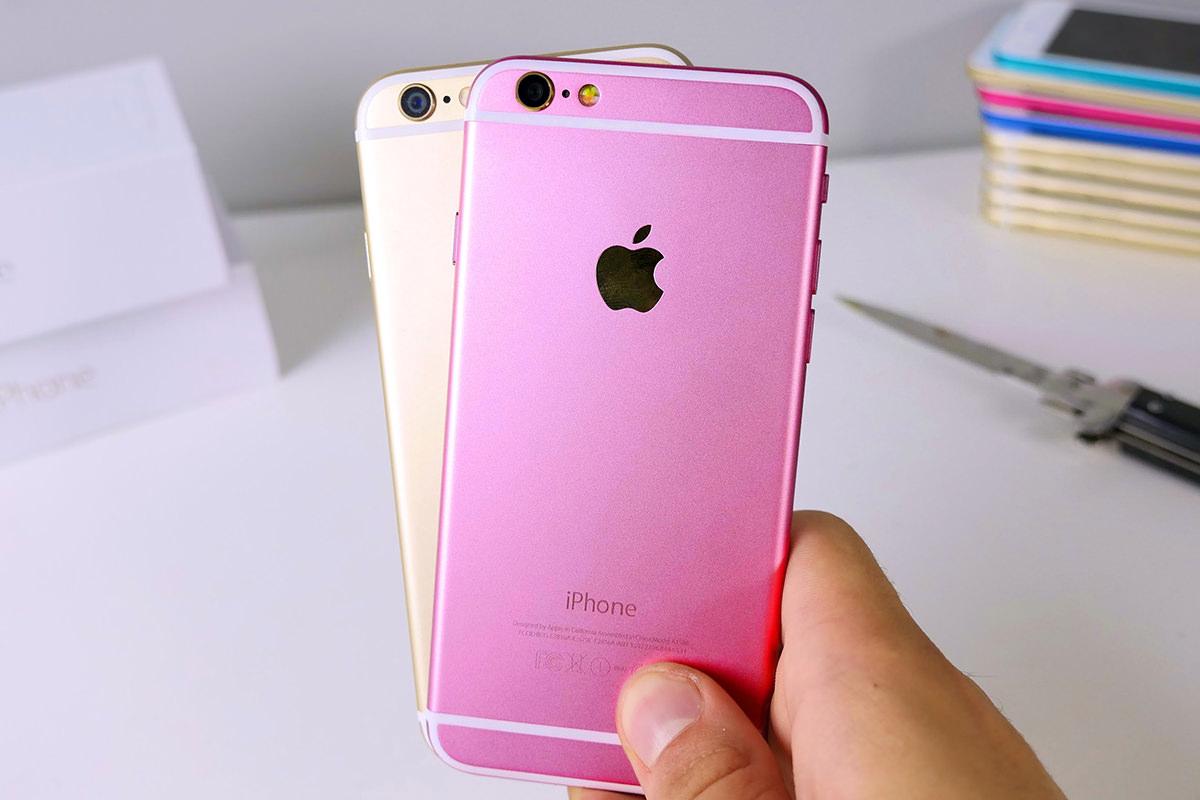 iPhone 5se получит настоящую розовую расцветку
