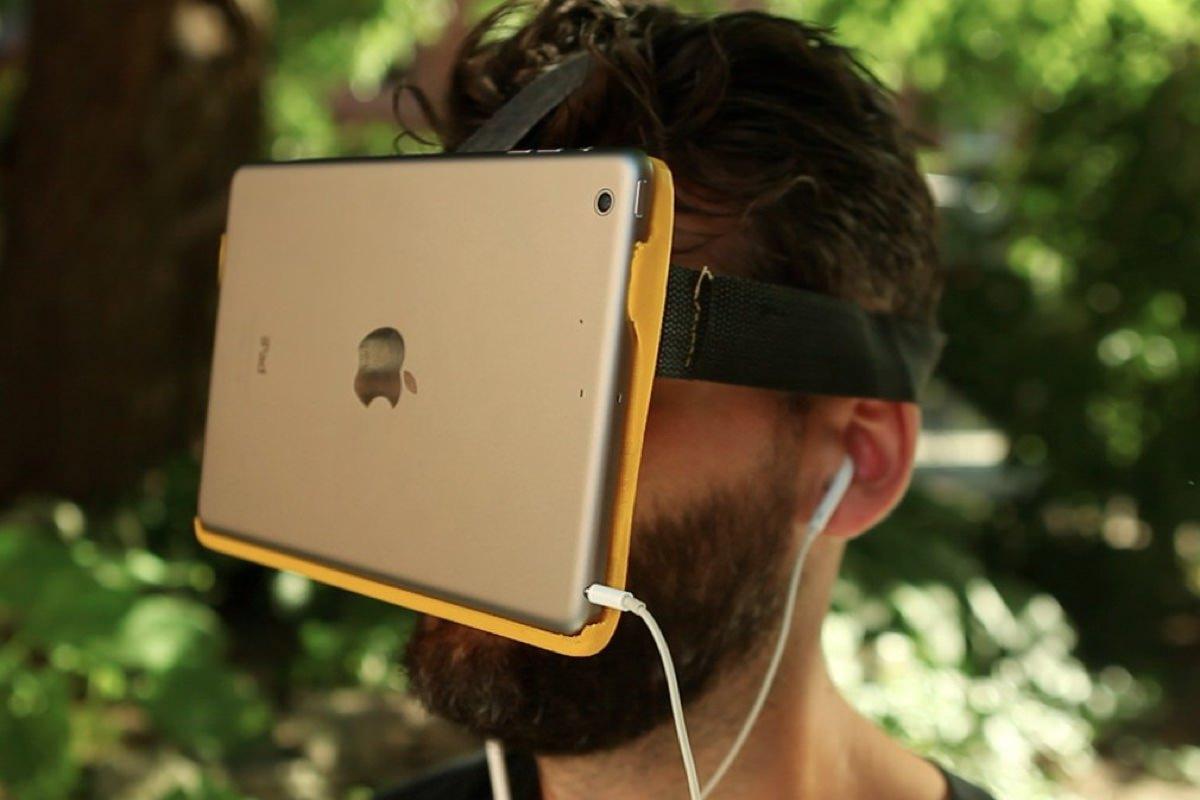 Apple получила новый патент на шлем виртуальной реальности