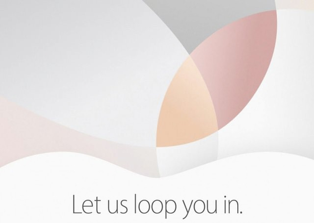 Apple event 21 03 2016 iPhone 5se iPad pro new