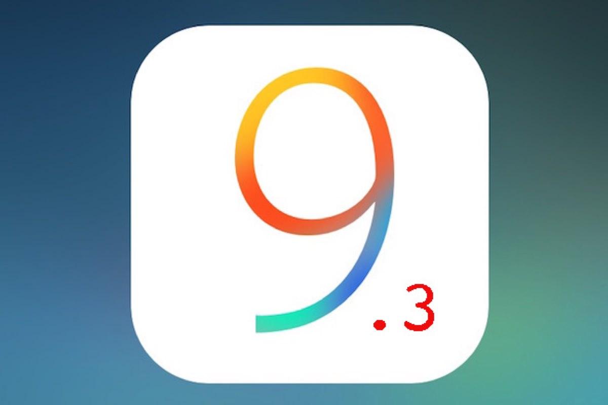 Прошивка iOS 9.3 доступна для загрузки