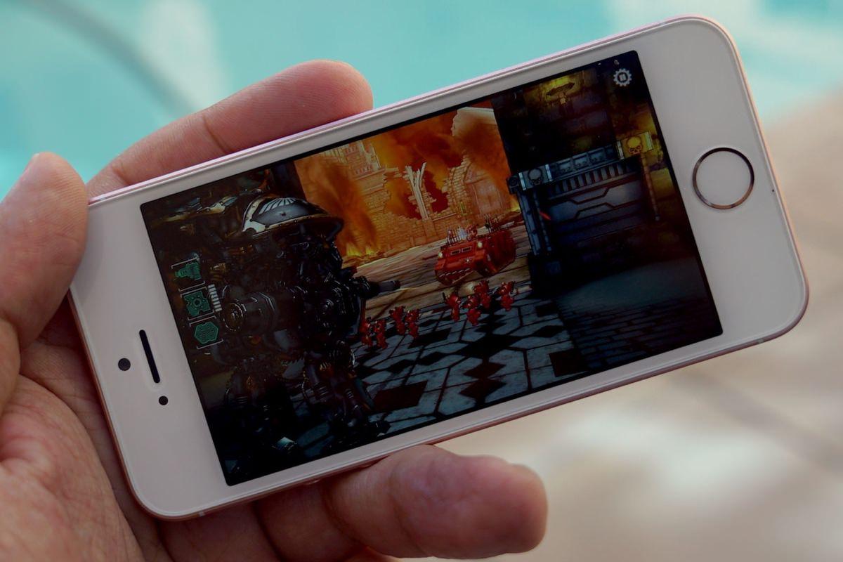 iPhone SE оказался мощнее iPhone 6s в тесте AuTuTu