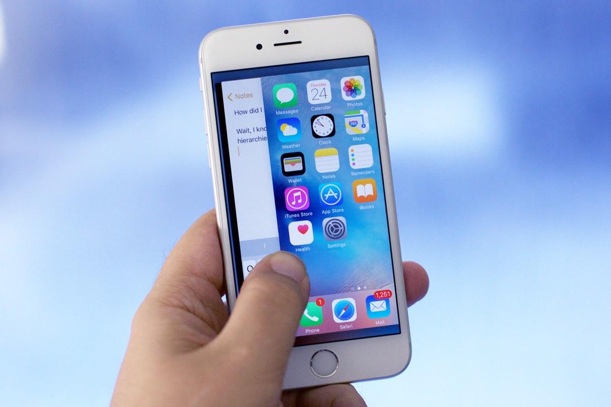 Запущенные приложения в фоне не разряжают устройства на iOS