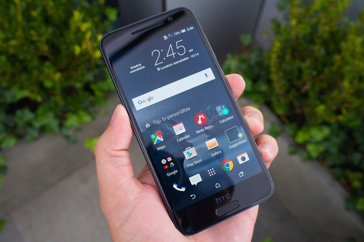 Живые снимки смартфона HTC 10