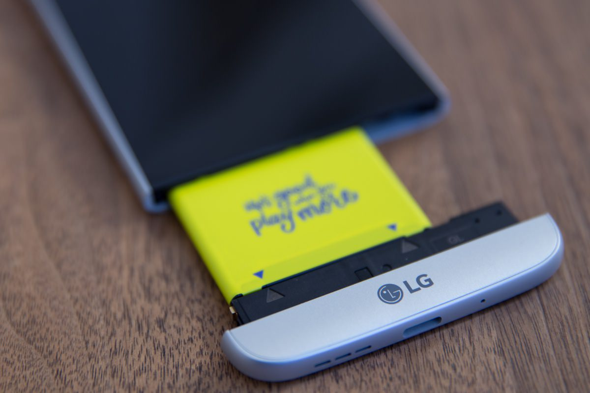 Модульный смартфон LG G5 обойдется россиянам в 46 тысяч рублей