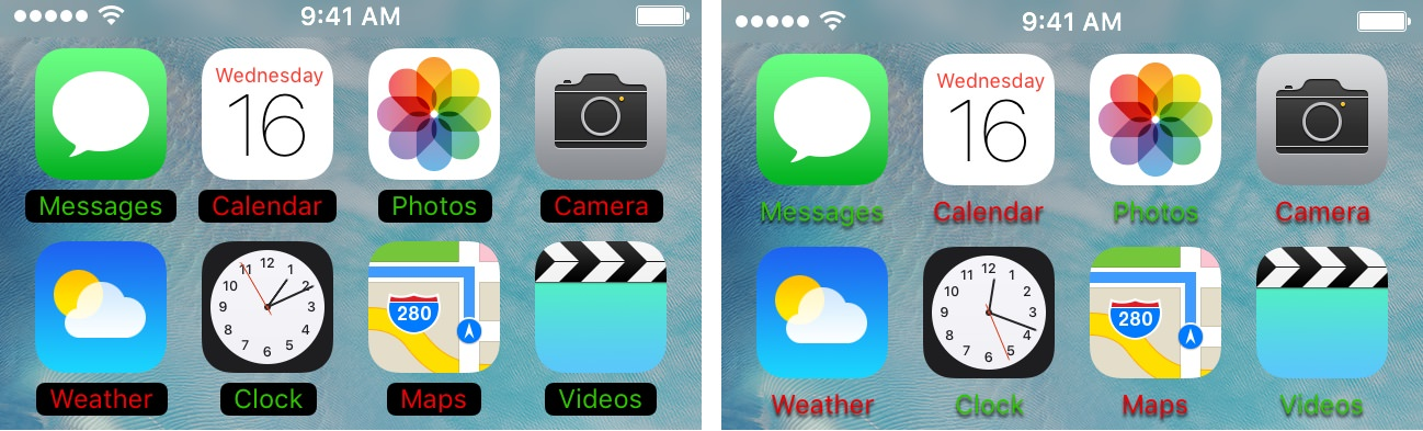 MagicLabels Tweak iOS 9