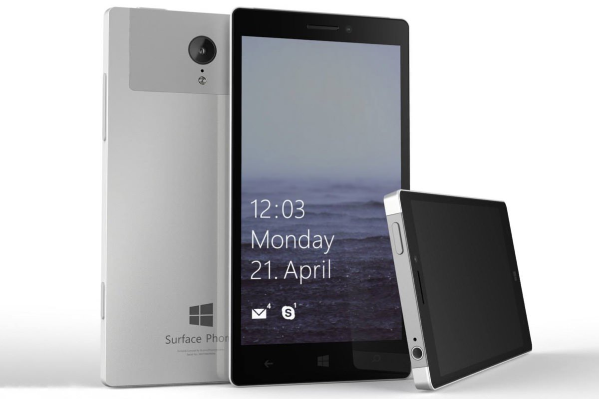 Microsoft работает над очень дорогим смартфоном за $1000