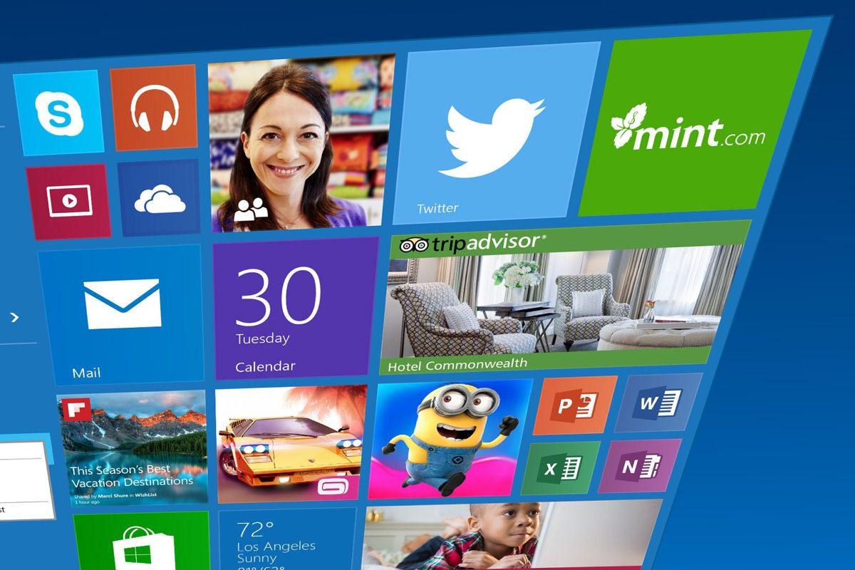 Microsoft кардинально обновит «живые» плитки в Windows 10