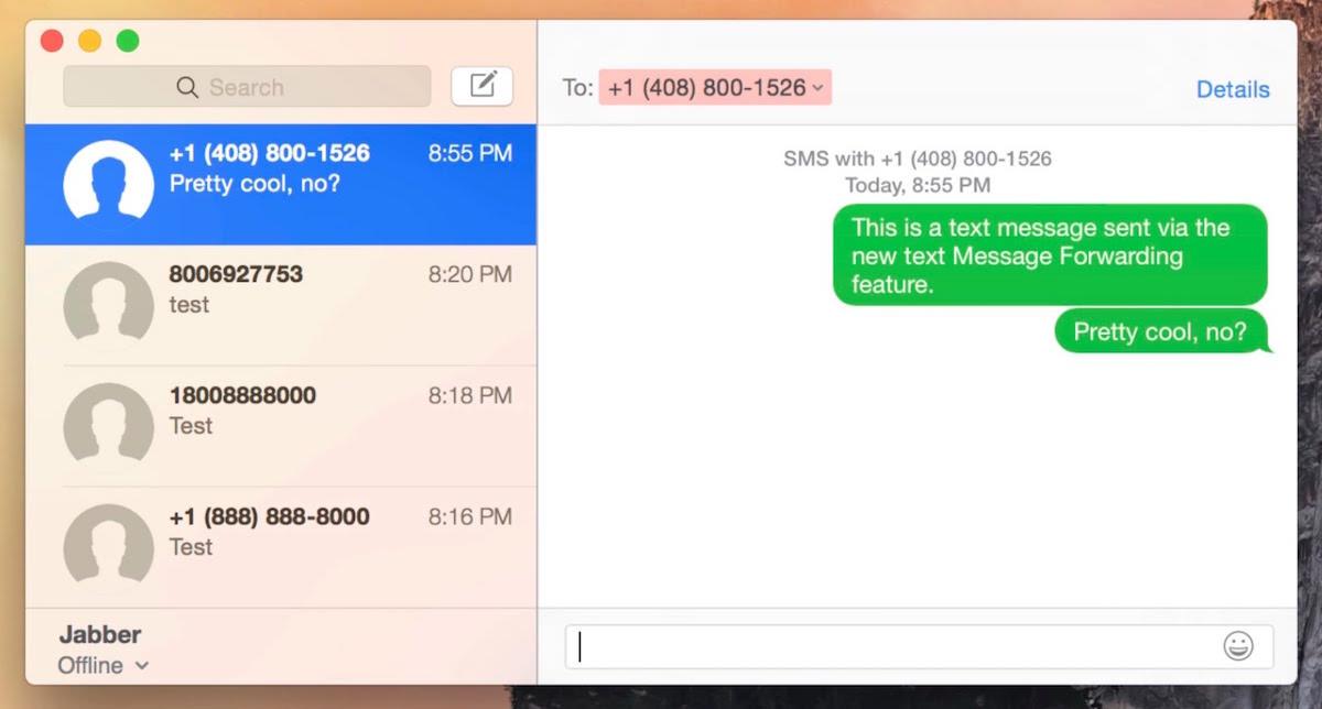 OS X El Capitan 10.11.4 iMessage FaceTime Fix 2
