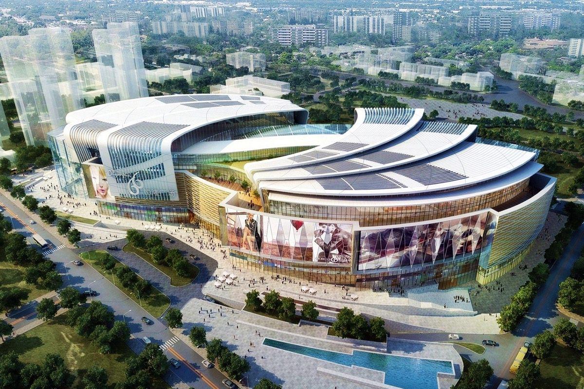 Самый большой в мире розничный магазин Apple Store открылся в Китае