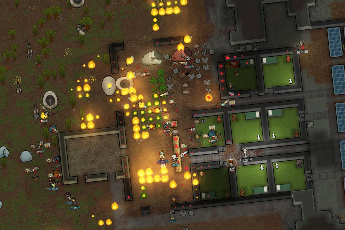 Игра Rimworld вскоре обновится до версии Alpha 13
