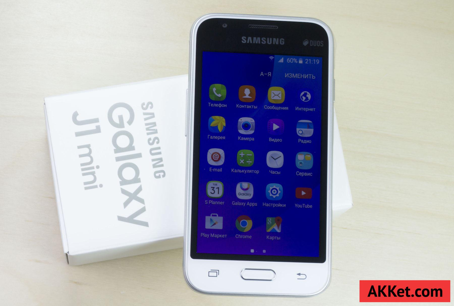 Samsung Galaxy J1 mini Duos Android 5.1.1 Lollipop Review 16