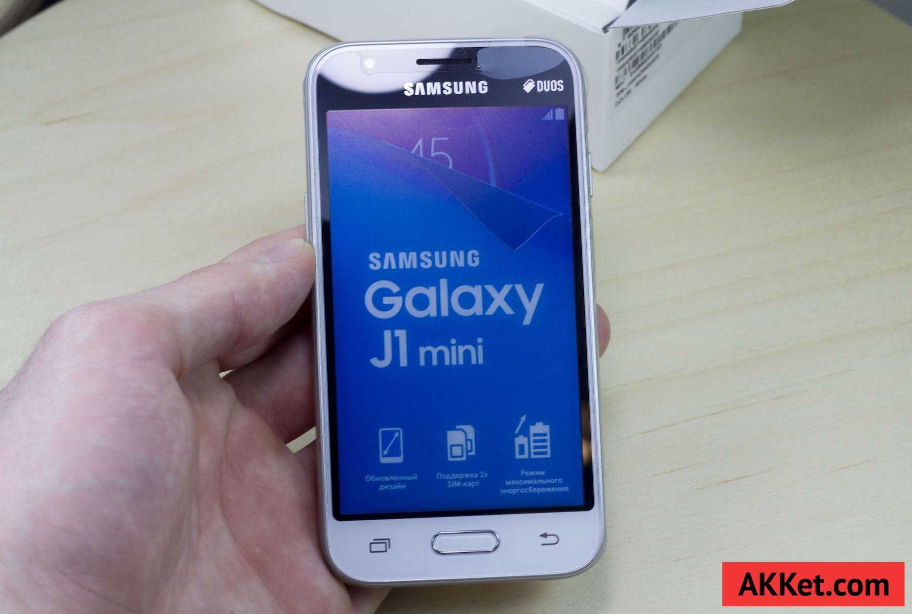 Samsung Galaxy J1 mini Duos Android 5.1.1 Lollipop Review 8