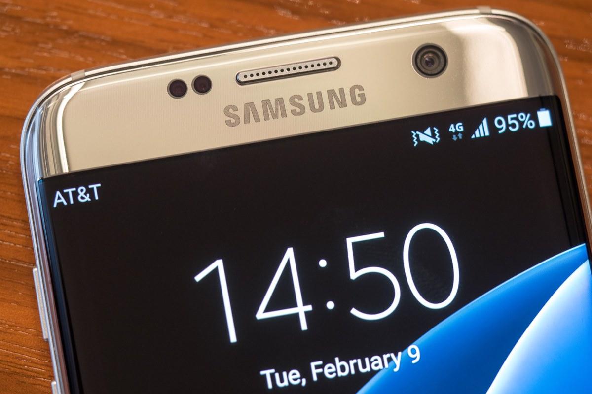 Android и оболочка TouchWiz занимают 8 Гб свободного места на Galaxy S7