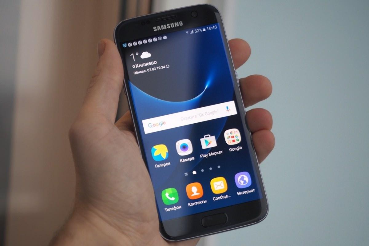 Samsung Galaxy S7 процессоре Exynos обогнал модель на Snapdragon
