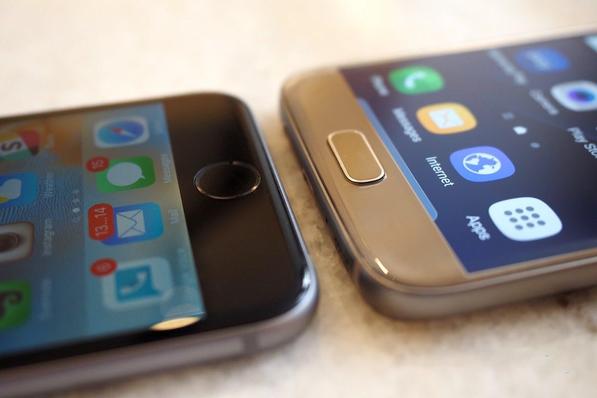 Сравнение смартфонов iPhone 6s, Galaxy S7 edge, Nexus 6P и Moto X Pure